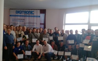 DIGITRONIC AUTOGAS organizes trainings on the configuration, installation and calibration of multipoint and direct injection autogas systems.