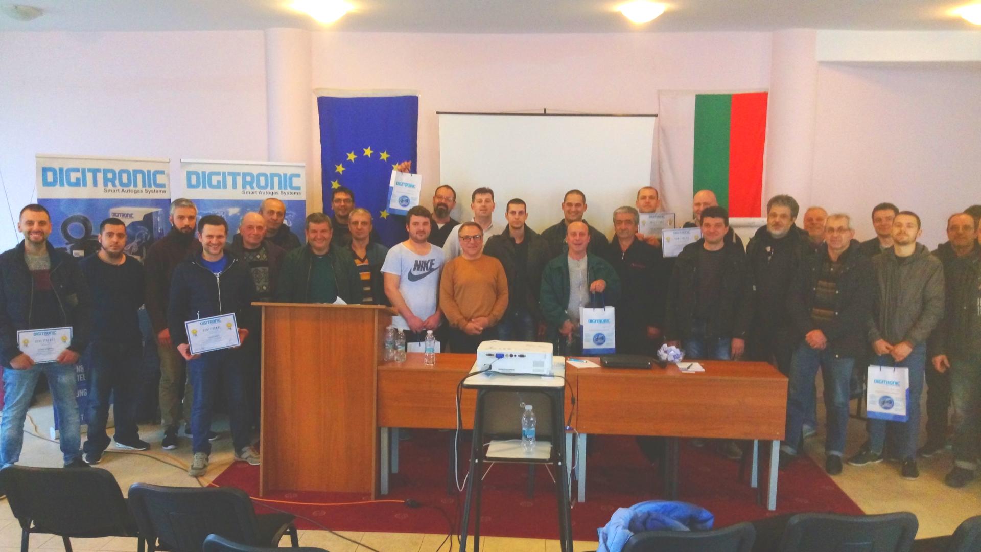 DIGITRONIC AUTOGAS is training again in Bulgaria