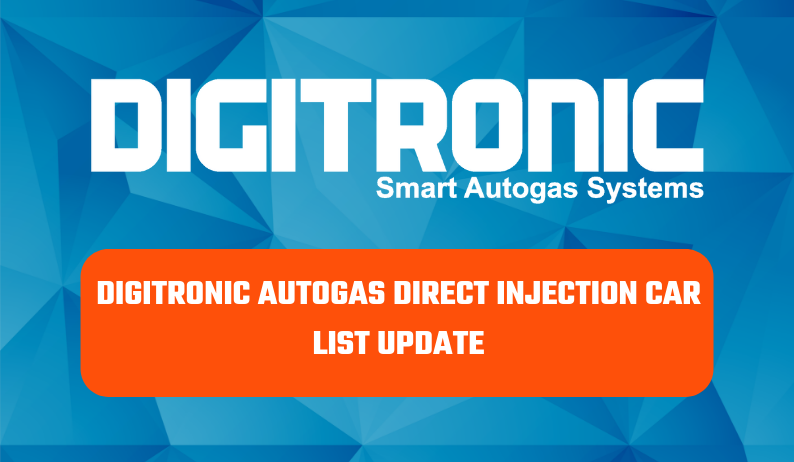New Year New…Direct Injection Car List Update !