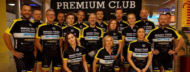 Magic Team DIGITRONIC AUTOGAS on Maratony Kresowe MTB
