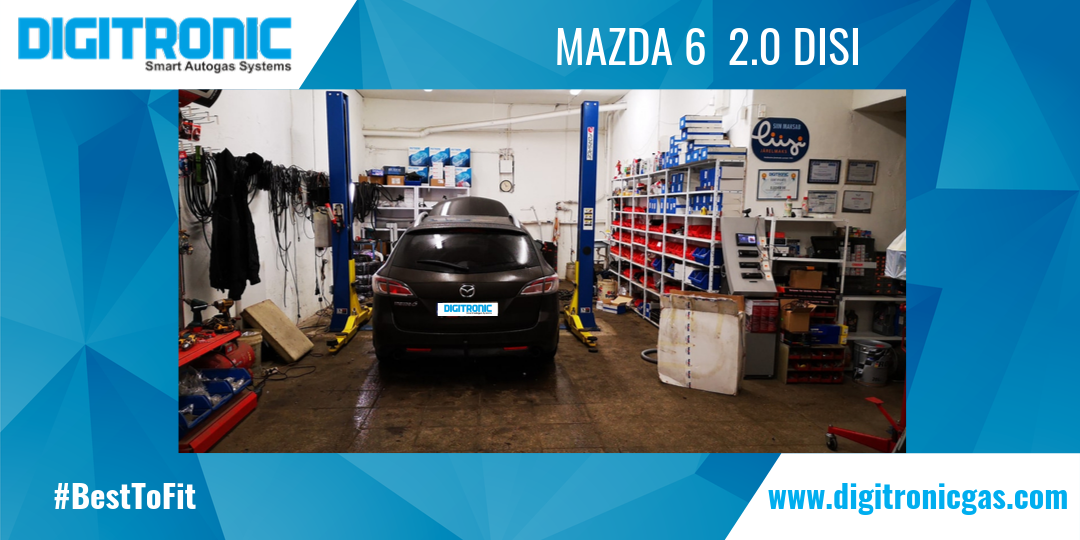Mazda 6  2.0 DISI